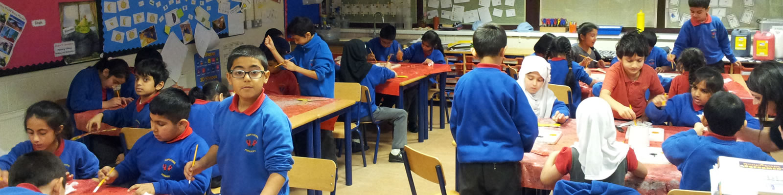 School Aboriginal Art Dot Painting Project